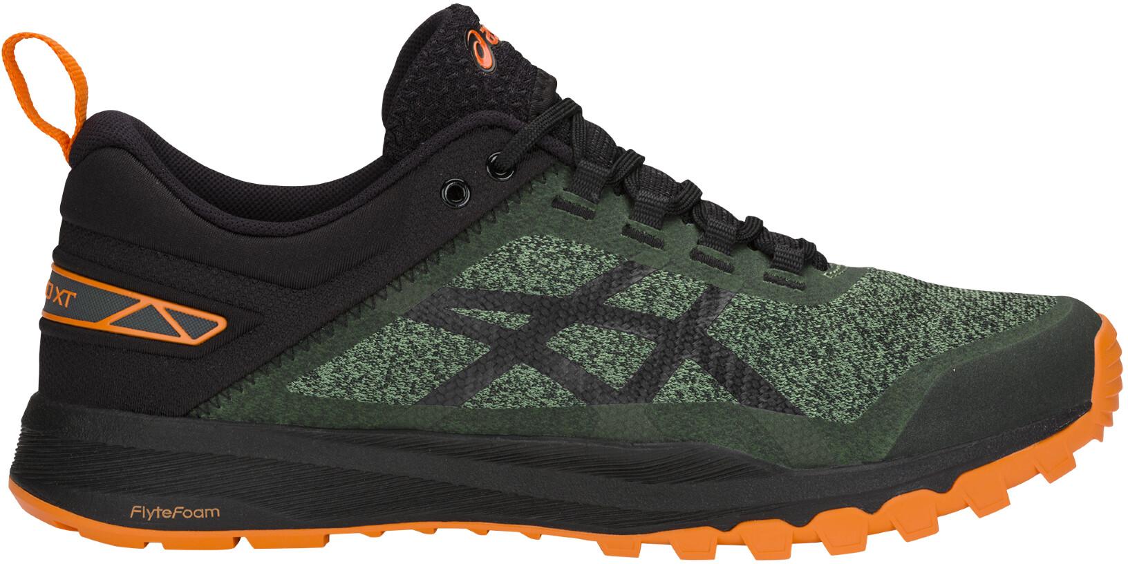 asics Gecko XT - Chaussures running Homme - vert noir - Boutique de ... f4d758538bb2